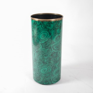 Piero Fornasetti malachite pattern umbrella holder