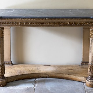 EARLY 19TH CENTURY ITALIAN NEOCLASSICAL CONSOLE TABLE