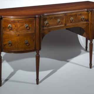 Anglo-Indian Solid Padouk Sideboard