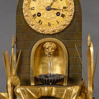 French Water Automation Clock
