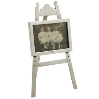 Sterling Silver Photograph Frame - Antique Edwardian (1903)