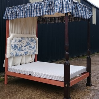 George III Four Poster Bed