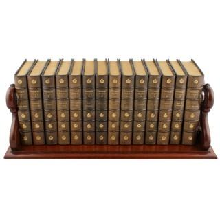Victorian Mahogany Book Tray