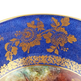 Wedgwood Porcelain Bowl Signed A Hollond