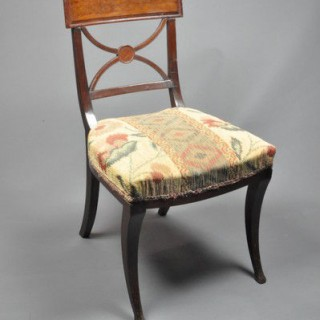 Set of Eight THOMAS HOPE style Chairs