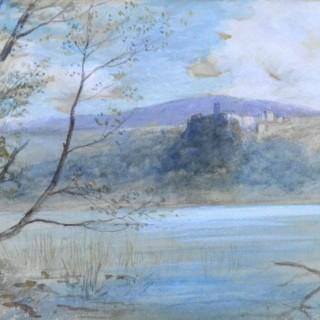 John MacWhirter - Lake Nemi