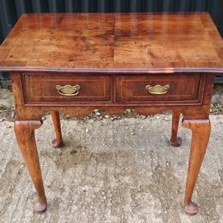 Early Eighteenth Century George I Period Walnut Antique Side Table