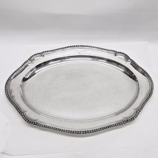 Antique George III Silver Meat Platter