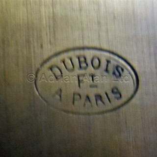 A Louis XVI Style Plum-Pudding  Mahogany Bas d'Armoire