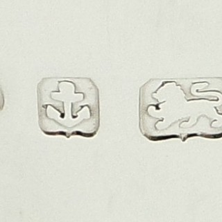 Antique Edwardian Sterling Silver 7 1/2