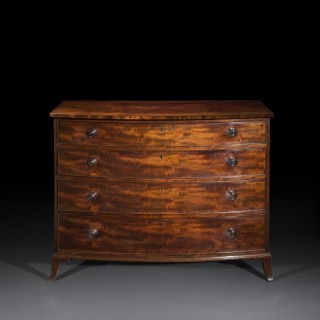 Georgian Regency Chest of Drawers, Attributed to Gillows
