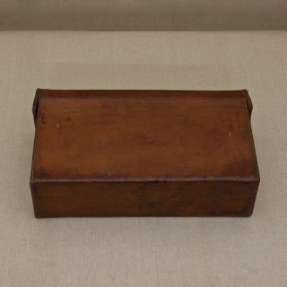 Leather Cased Set of Maps of England and Wales