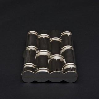 Silver 'Bamboo' Silver Cigar Case