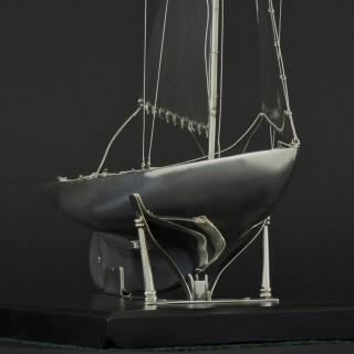 Benzie's Silver Model Yacht