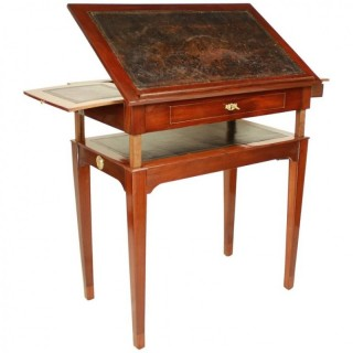 Mahogany Architect's Table in the Manner of Canabas, late 18th Century