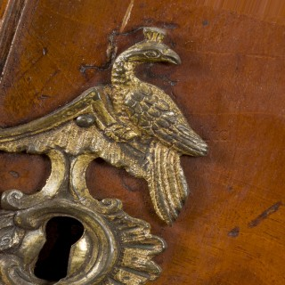 An 18th Century Dutch Neoclassical Mahogany Armoire