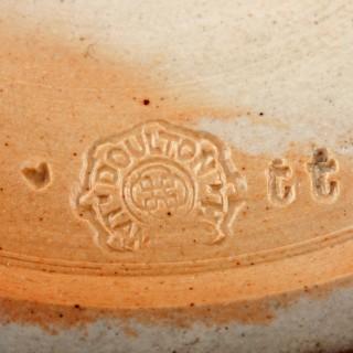 Victorian Doulton Lambeth Jug & Beakers