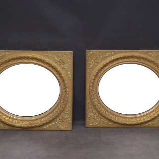 Pair of 19th Century Giltwood Wall Mirrors
