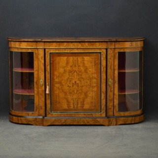 A Superb Quality Victorian Credenza