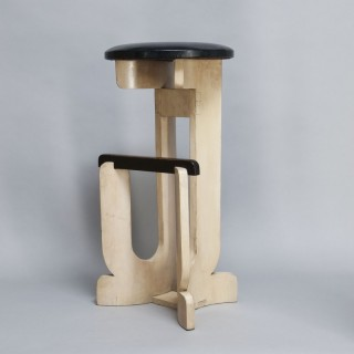 GERALD SUMMERS COCKTAIL STOOL - Made by Makers of Simple Furniture (1931-1940)