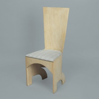 GERALD SUMMERS HIGH BACK CHAIR - Made by Makers of Simple Furniture (1931-1940)