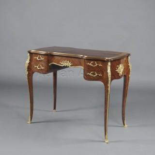 A Louis XV Style Petit Bureau Plat de Dame