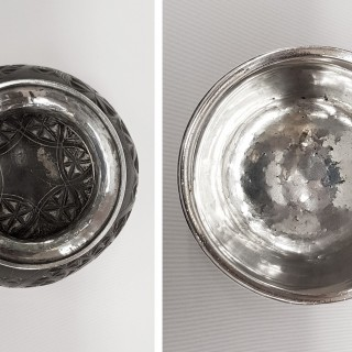 George III Silver Coconut Cup