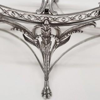 George III Silver Epergne