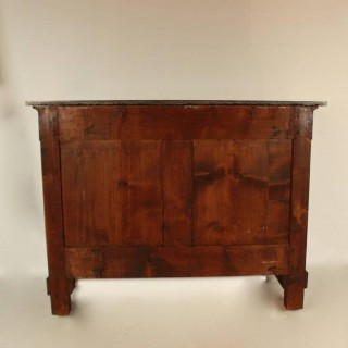French Empire Mahogany Hercules Herms Commode , in the manner of Bernard Molitor, ca. 1810