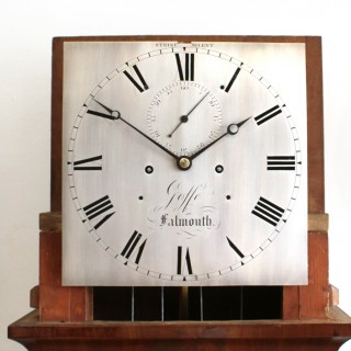 Domestic Regulator Longcase clock by Goffe, Falmouth