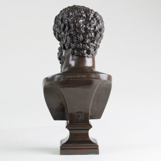 Bronze bust of Lucius Verus
