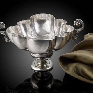 A Rare Spanish silver Bernegal C.1650