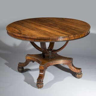 Regency Centre Table attributed to Gillows