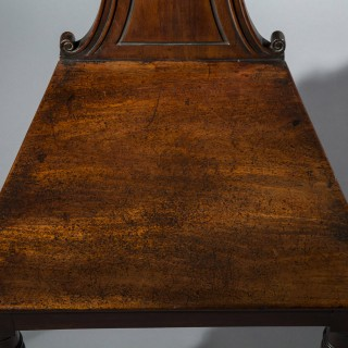 Regency Mahogany Hall Chair