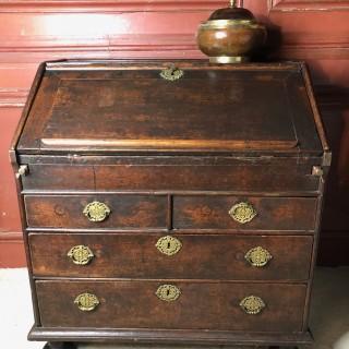 Oak Bureau Circa 1700
