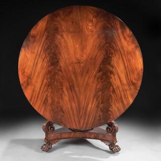 Fine Regency Period Mahogany Centre Table