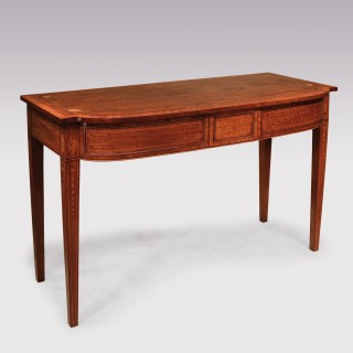 George III Well-Figured Mahogany Console/Side Table