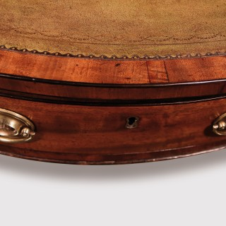 George III Mahogany Revolving Drum Table