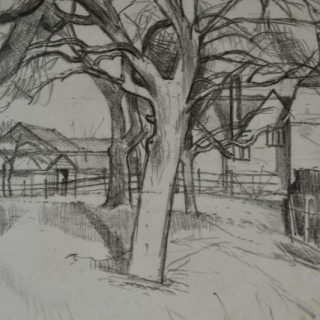 John Aldridge, RA - Orchard, Great Bardfield