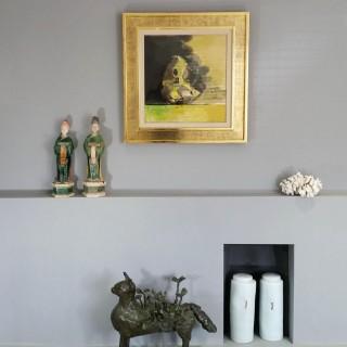 Bernard Reder (1897-1963) Flowering Cat 1955