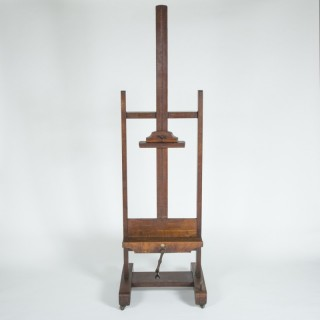 OAK EASEL BY ROBINSON & CO