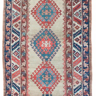 Antique Transcaucasian runner, South Caucasus