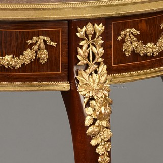 A Gilt-Bronze Mounted Mahogany Table Ambulante