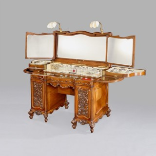 An Antique Ladies Dressing Table by Betjemann