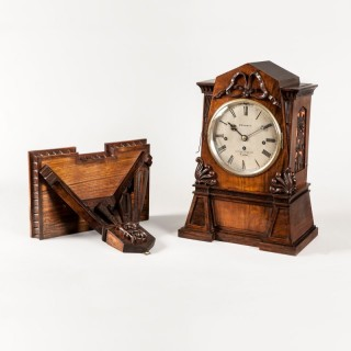 A Fine Quarter Chiming Bracket Clock By John Bennett of Cheapside, London