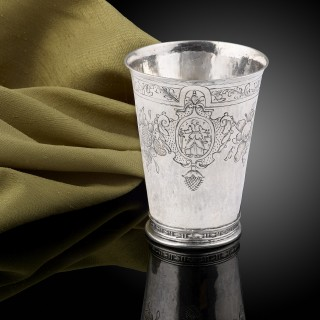 A fine and rare silver beaker, Cologne c.1600