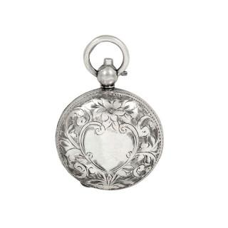 Antique Edwardian Sterling Silver Sovereign Case 1909