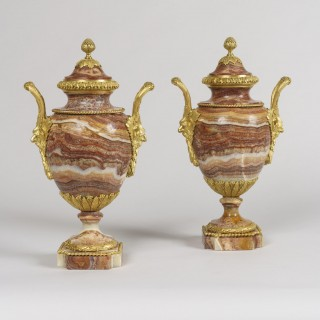 A Fine Pair of Urns in the Louis XVI Manner