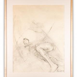 'Drawing #2 (Birdman)' Elisabeth Frink 1930-1993