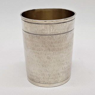 Antique Augsburg Silver Beaker